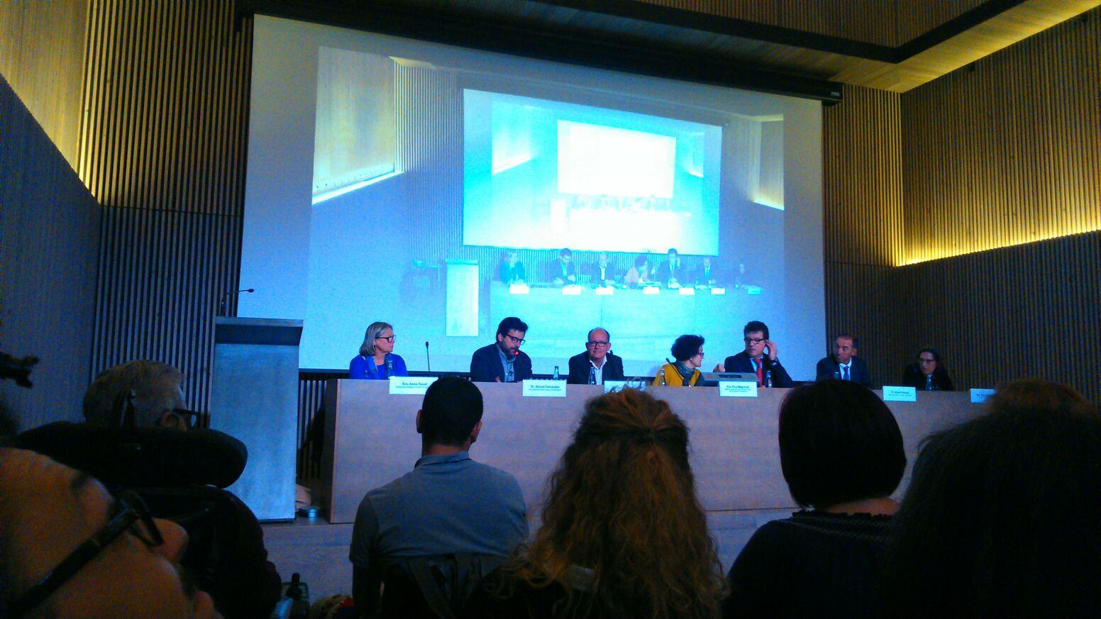 Inauguración de la sede en Barcelona de EURORDIS