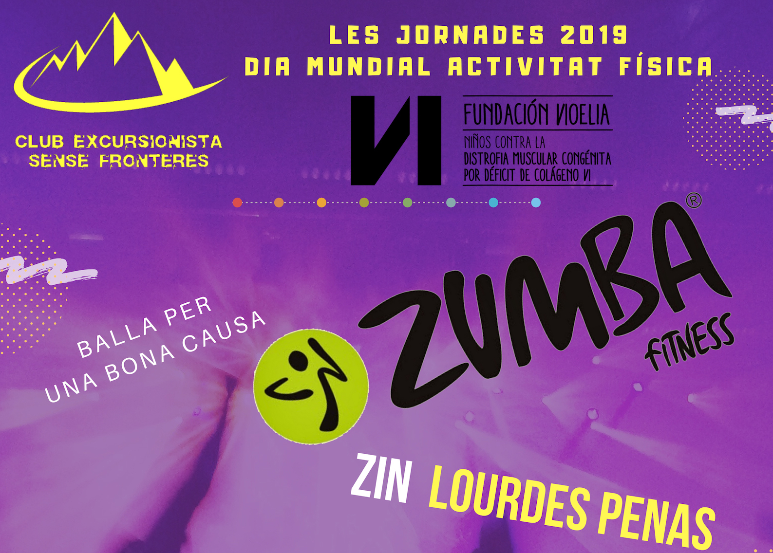 Sesión de Zumba Fitness